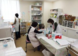 充実した医療スタッフで皆様の健康をお守りします
